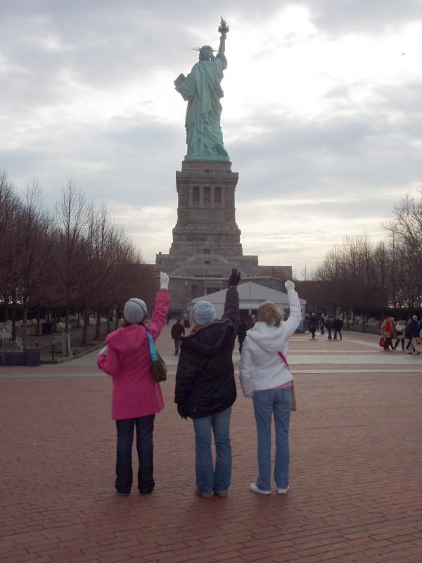 5 Girls lady Liberty