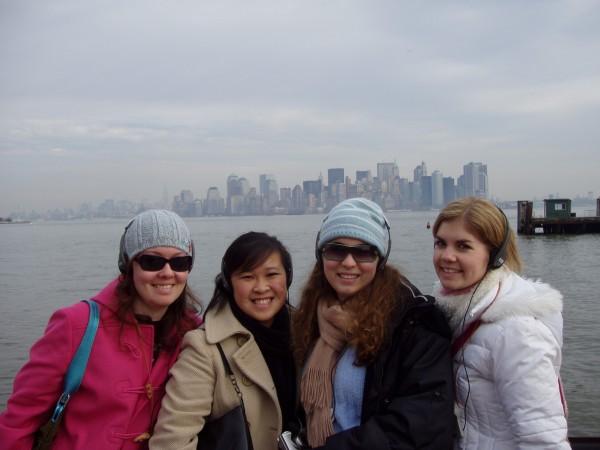 5 girls on liberty park