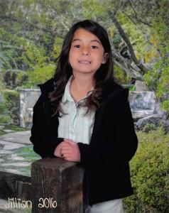 Jillian Second Grade 2016