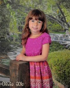 Olivia kindergarten 2016